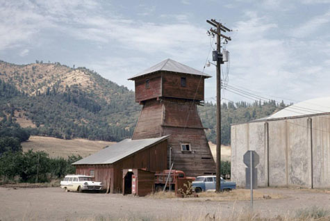 Water Tower (Rock Point, Oregon), Building Oregon