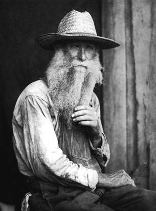 Man with beard, Berea, Kentucky, pre 1931, Doris Ulmann Collection, PH038-14-1678, Doris Ulmann (1882-1934) photographs, 1920s-1934