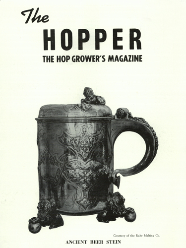 The Hopper, January-March 1954, Oregon Hops & Brewing Archives