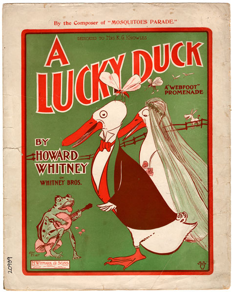 A Lucky Duck, Historic Sheet Music Collection