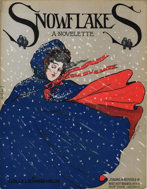 Snowflakes, Historic Sheet Music Collection
