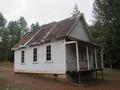 Schoolhouse from Golden Historic District (Wolf Creek, Oregon)