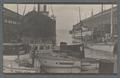 Boats and ships in port in Seattle, circa 1910