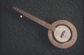 Fancy, right handed banjo adapted from 'Foxfire'