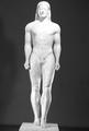 Funerary statue of a kouros from Anavyssos