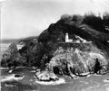 Aerial view of unidentified Light Station