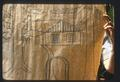 Design for Abbott house rug--drawn on butcher paper, the transferred to burlap