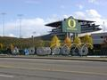 X's and O's, Autzen Stadium, University of Oregon (Eugene, Oregon)