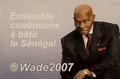 Abdoulaye Wade campaign poster