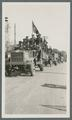 OAC Transportation Corps liberty trucks on parade, circa 1920
