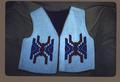 Beaded vest, front view