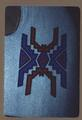 Beaded vest, front view, close up