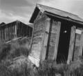 Outhouse, Shirk Ranch (Adel, Oregon)