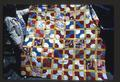 Bow-Tie, multi-colored quilt, double size