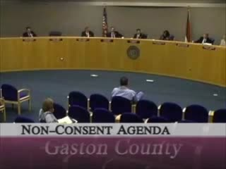 Gaston County Board of Commissioners meeting video, November 9, 2006