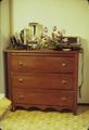 16 x 36 x 38 inch chest of drawers, made pre-1908 by Lawrence Pike Maury